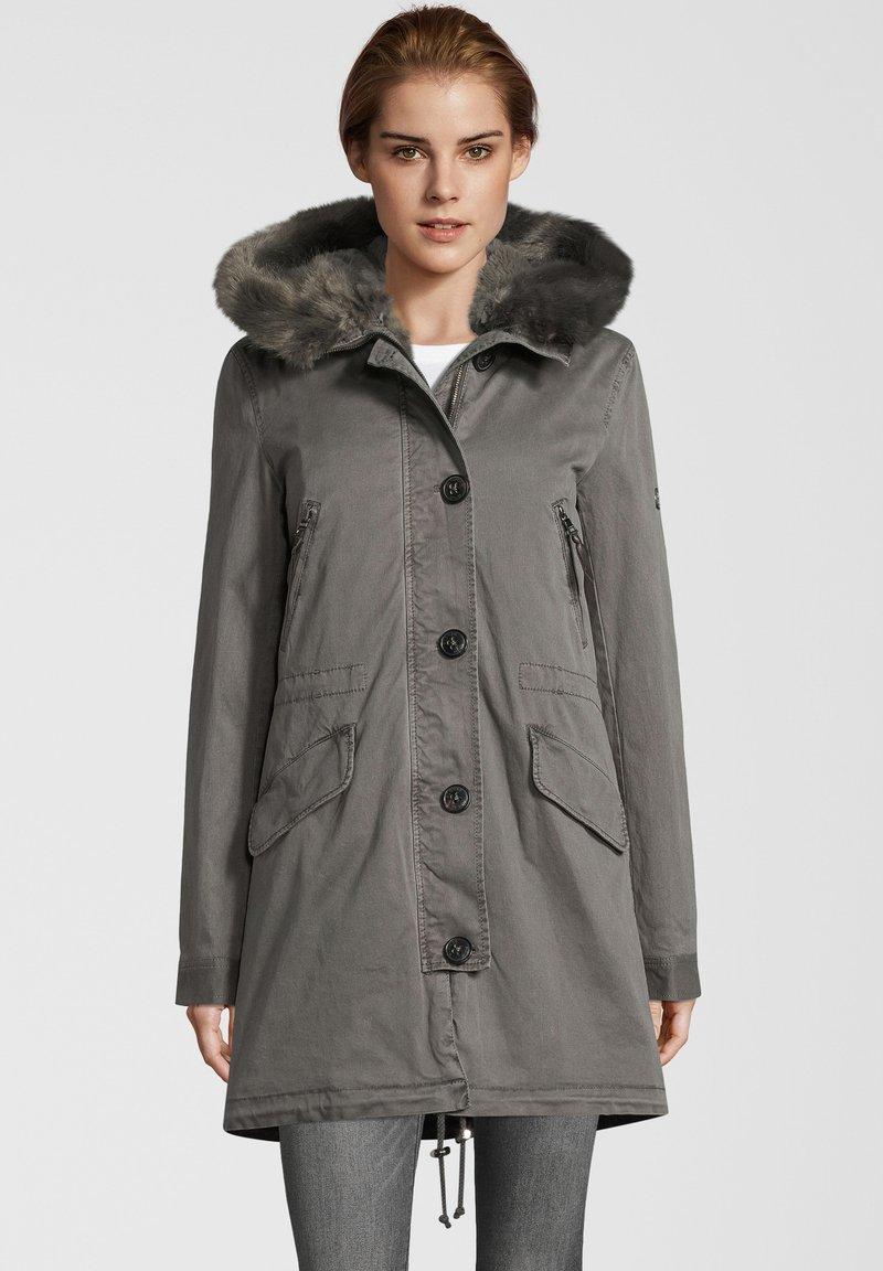 Blonde No. 8 - CREEK - Winter coat - frost grey