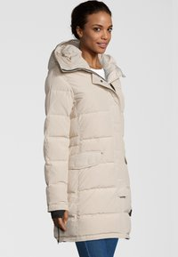 Blonde No. 8 - DAVOS - Down coat - silver white