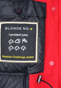 Blonde No. 8 - POLAR  - Down coat - red - 3