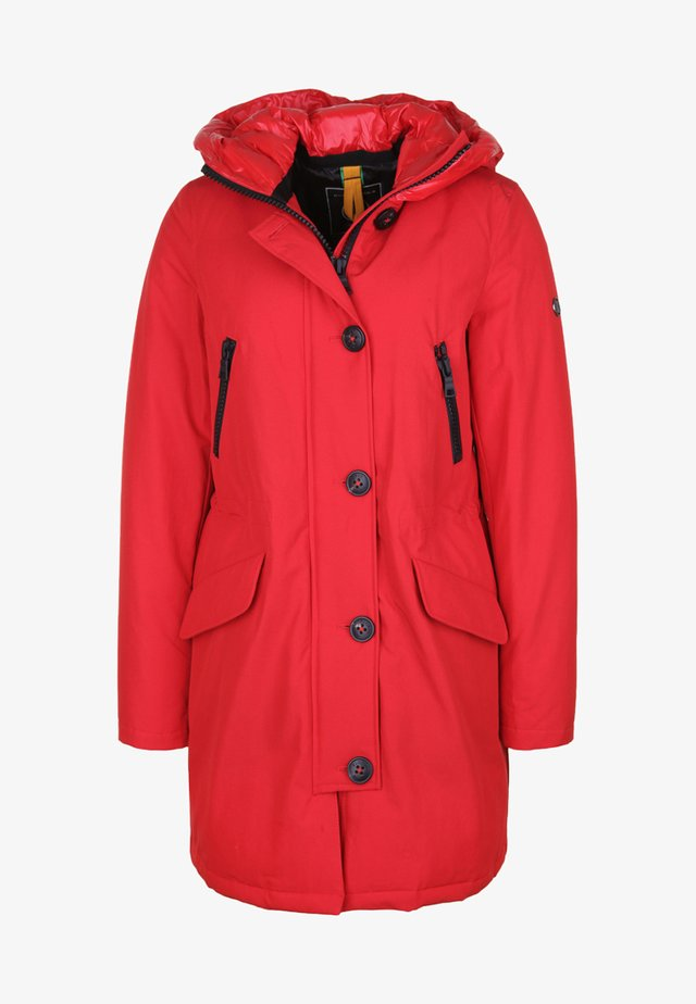 POLAR  - Down coat - red