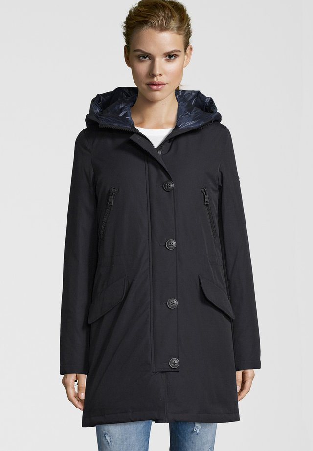 POLAR  - Down coat - navy