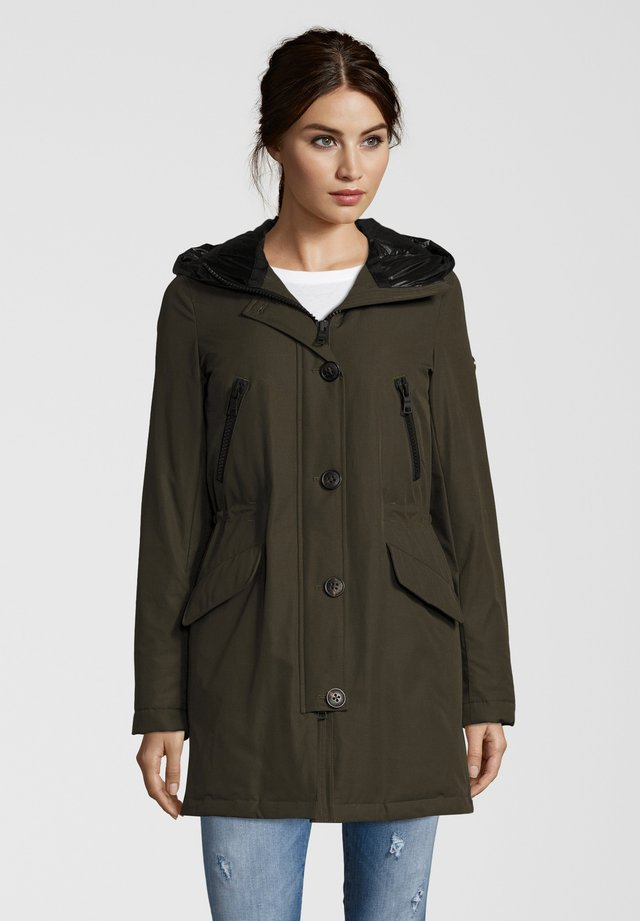 POLAR  - Down coat - night green