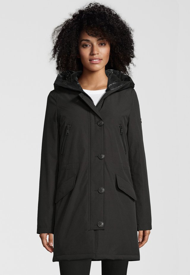 POLAR  - Down coat - black