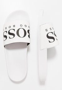 BOSS - SOLAR SLID LOGO - Mules - white - 1