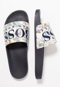 BOSS - SOLAR SLID LOGO - Mules - open white - 1