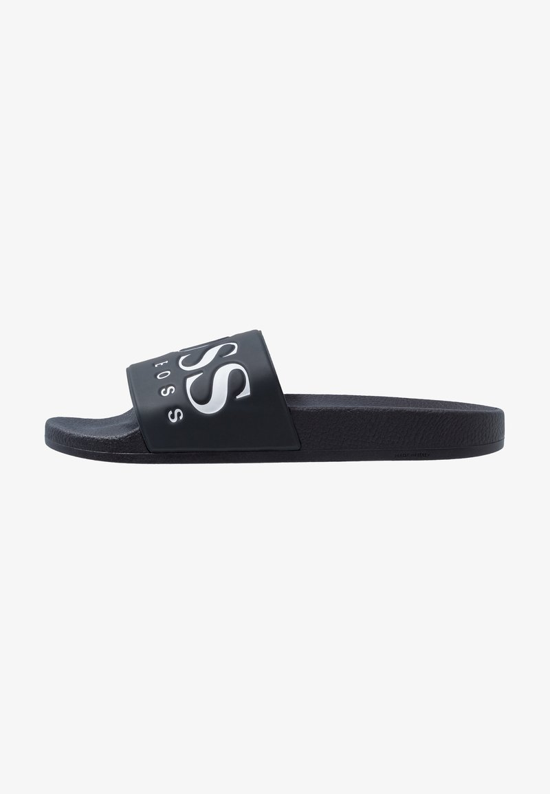 BOSS - SOLAR SLID LOGO - Mules - dark blue