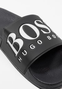 BOSS - SOLAR SLID LOGO - Pantofle - black - 5