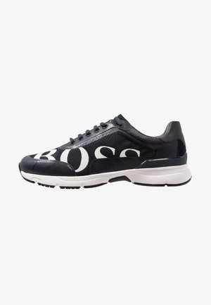 VELOCITY RUNN LOGO - Sneakers laag - dark blue