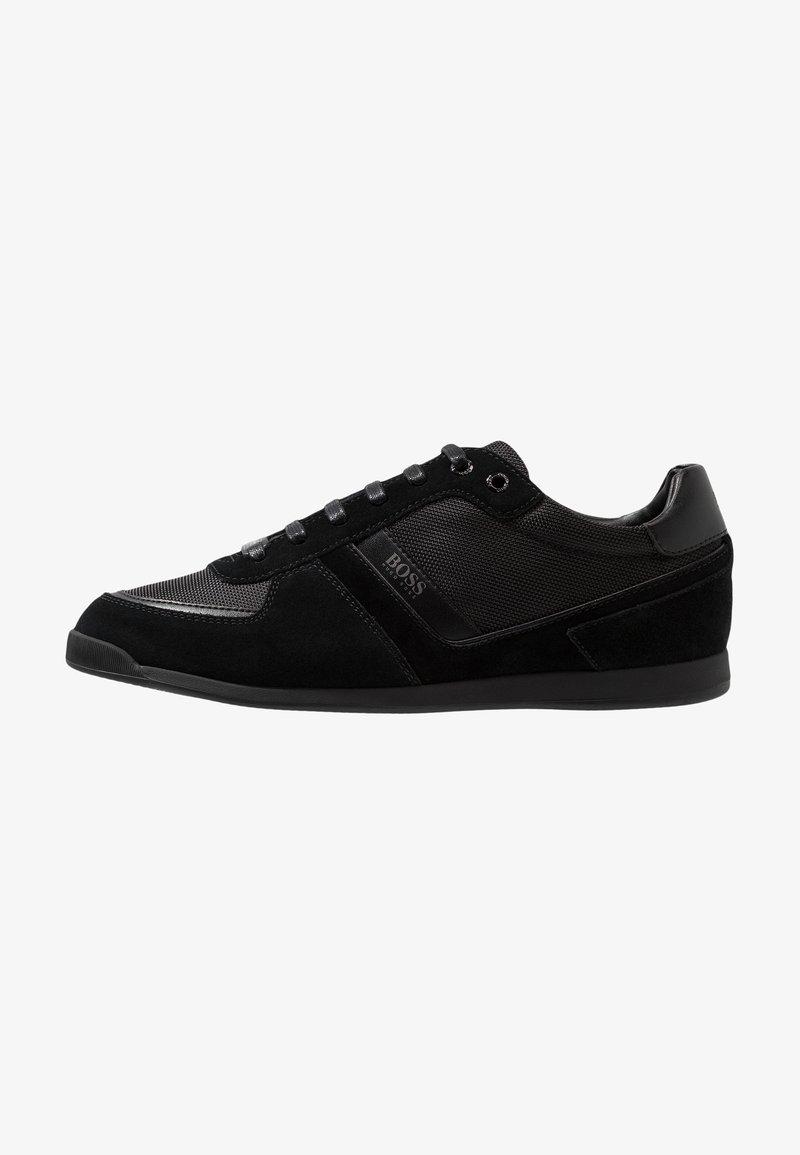 BOSS - GLAZE - Sneakers - black