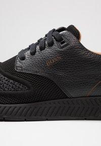 BOSS - TITANIUM - Sneakers - black - 5