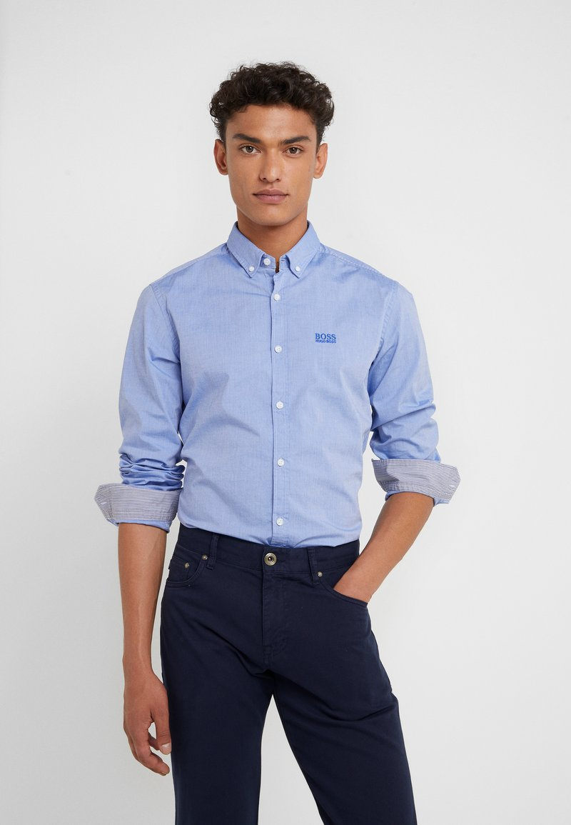 BOSS - BIADO - Camisa - light blue