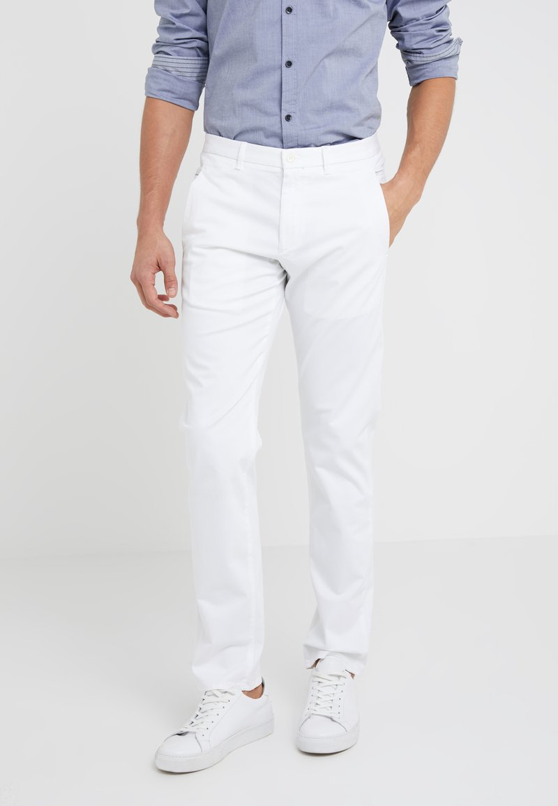 BOSS - LEEMAN - Chinos - white