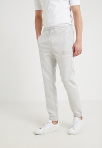 BOSS - HADIKO  - Tracksuit bottoms - light pastel grey - 0