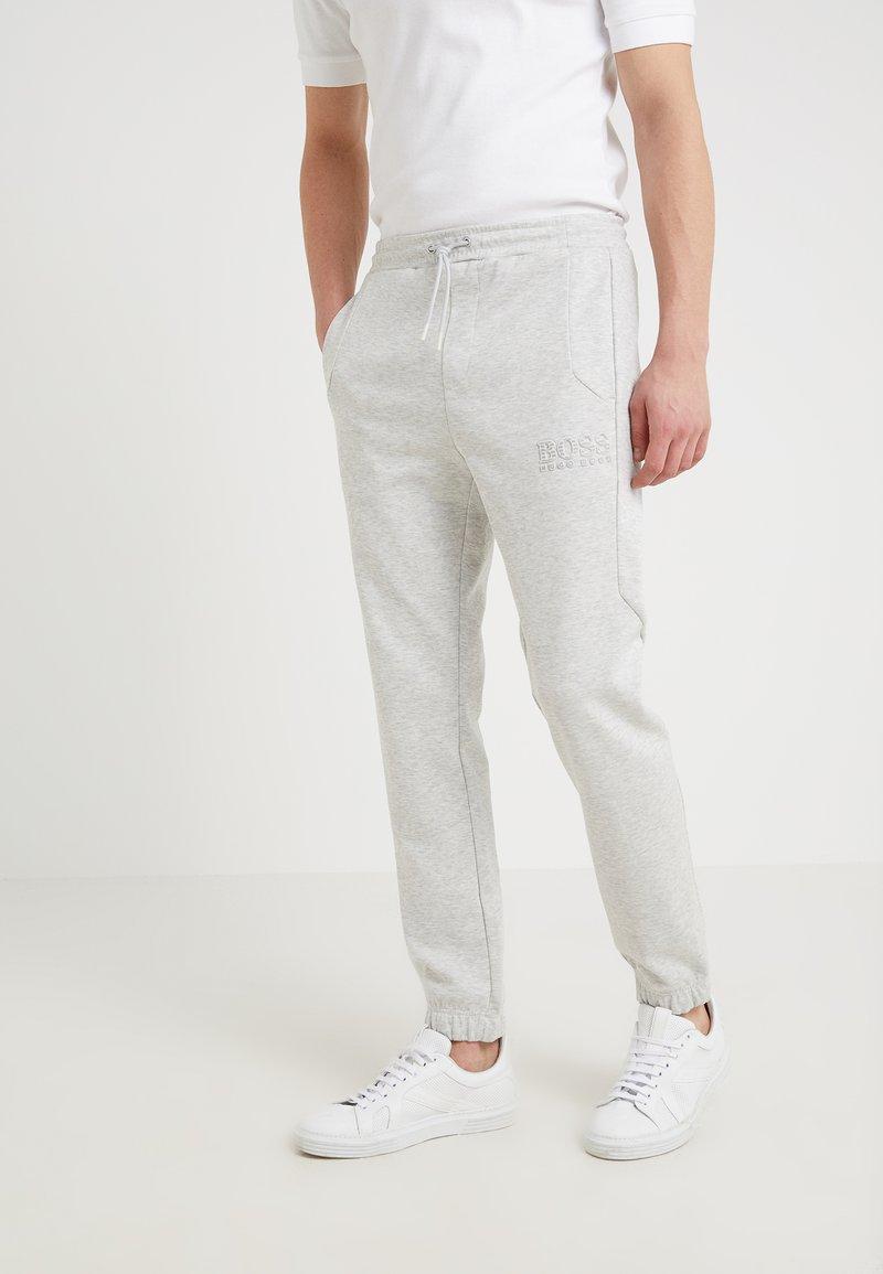 BOSS - HADIKO  - Tracksuit bottoms - light pastel grey