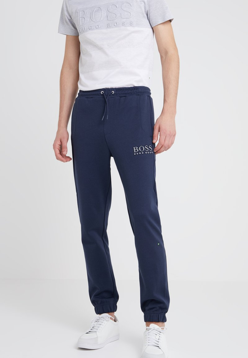BOSS - HADIKO  - Pantalones deportivos - navy