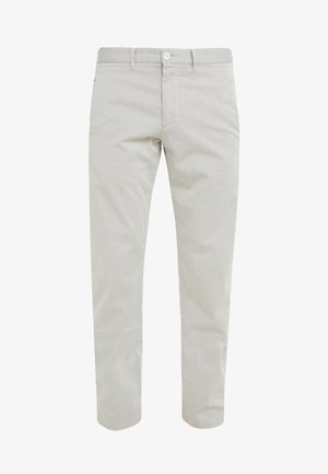 LEEMAN - Trousers - light beige