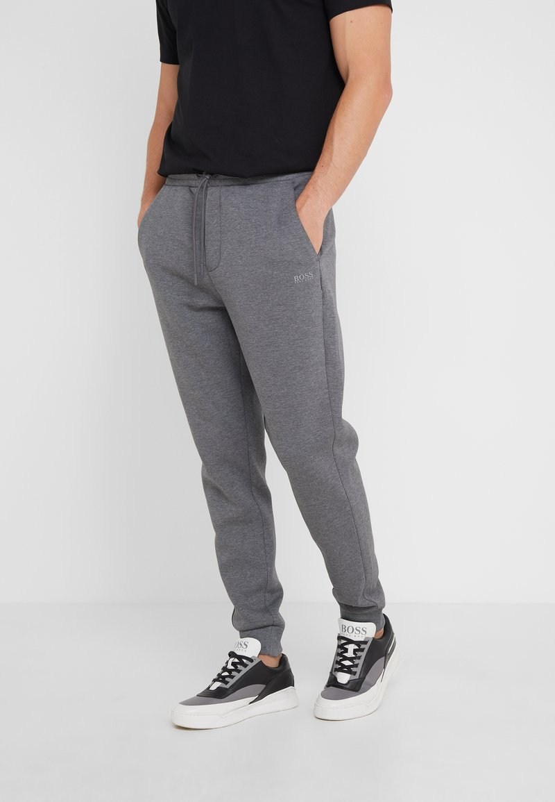 BOSS - HADIKO  - Tracksuit bottoms - medium grey