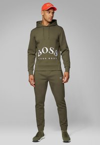 BOSS - HALBOA - Trainingsbroek - dark green - 1