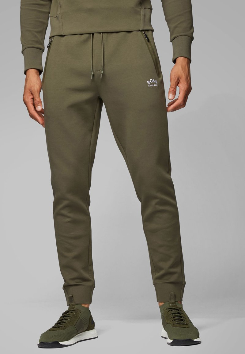 BOSS - HALBOA - Trainingsbroek - dark green