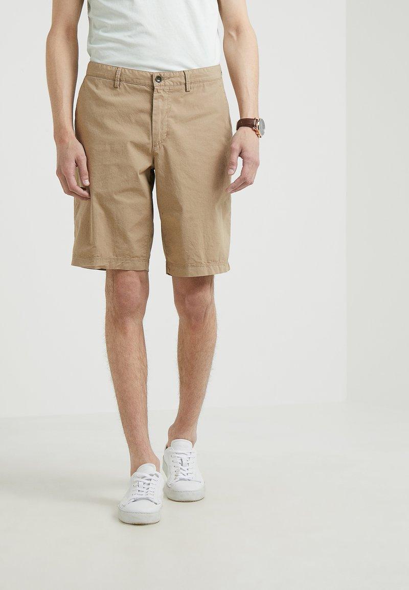 BOSS - BRIGHT - Shorts - medium beige