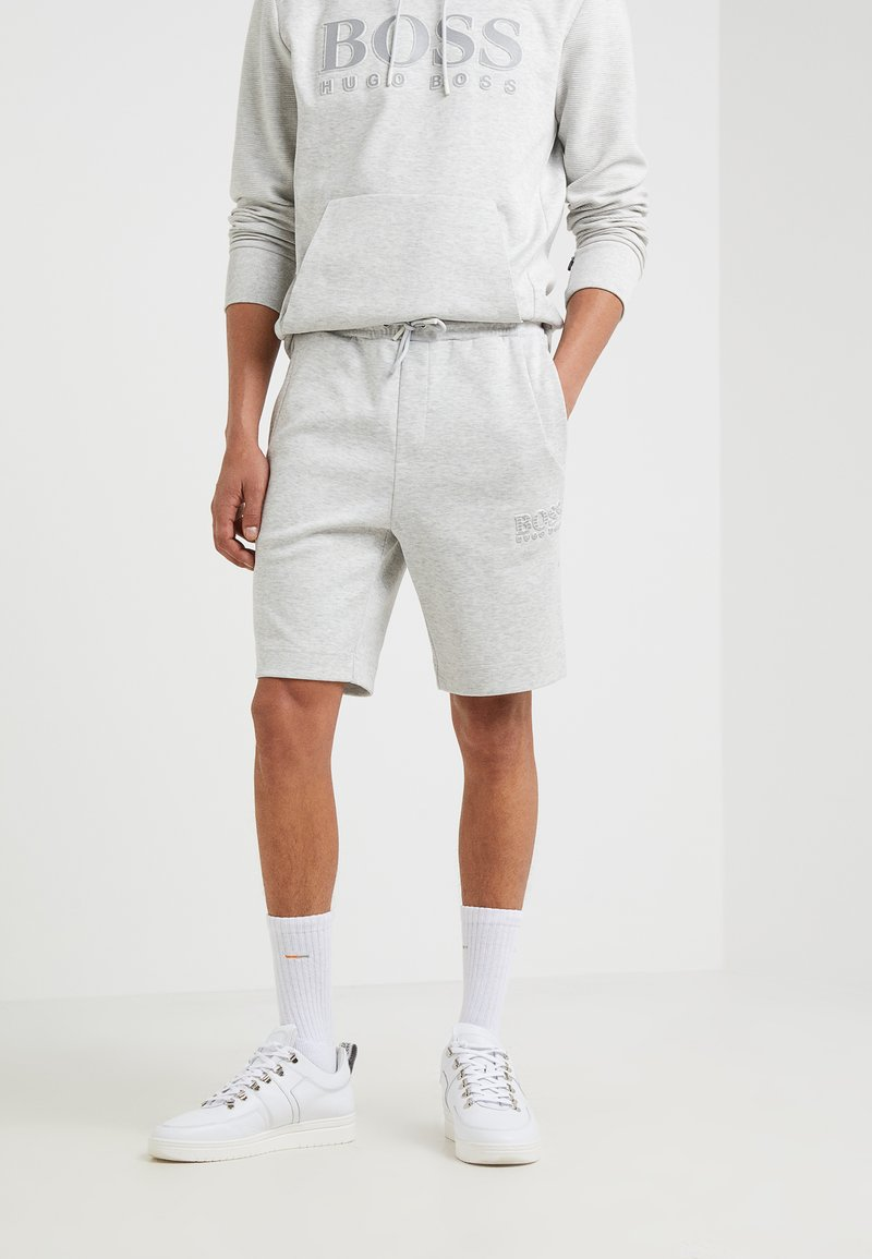 BOSS - HEADLO  - Shorts - light pastel grey