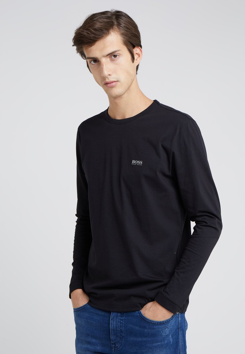 BOSS - TOGN - Long sleeved top - black