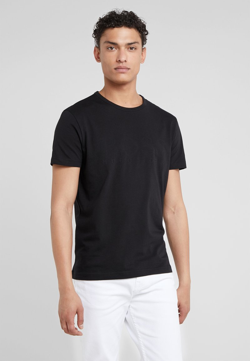 BOSS - TEE  - T-shirt con stampa - black