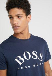 BOSS - T-shirt print - navy - 4