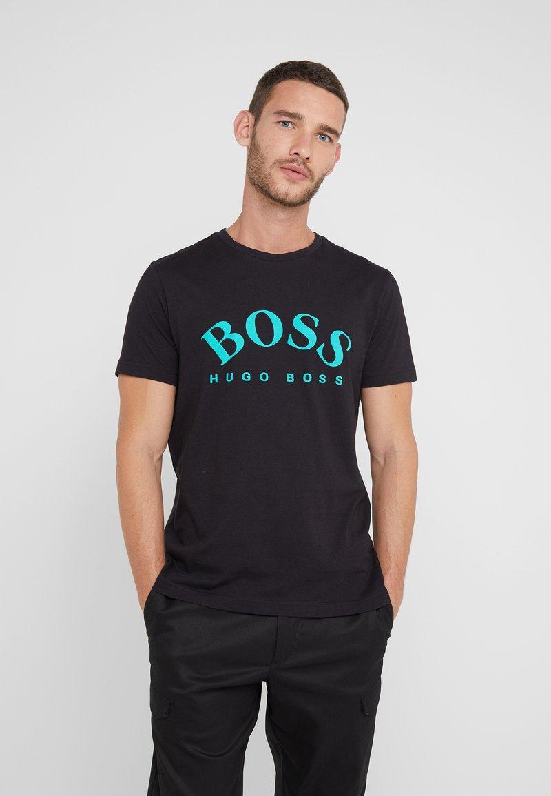 BOSS - TEE - Printtipaita - black