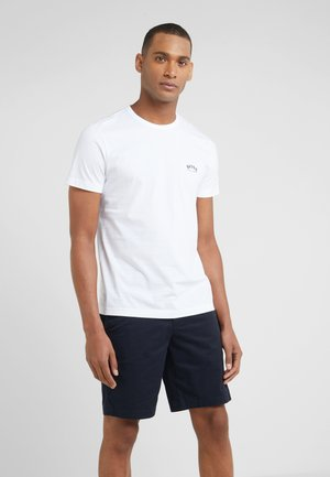 TEE CURVED 10213473 01 - Basic T-shirt - white