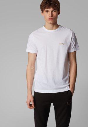 CURVED - Basic T-shirt - natural