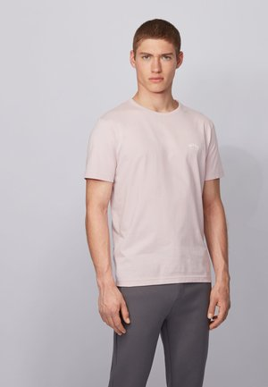 CURVED - T-Shirt basic - light pink