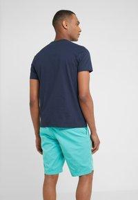 BOSS - CURVED - T-shirt basique - navy - 2