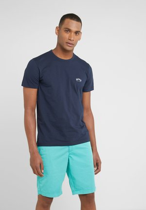 CURVED - Basic T-shirt - navy