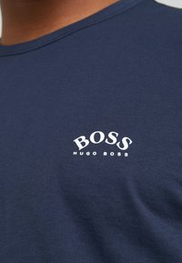 BOSS - CURVED - T-shirt basique - navy - 4