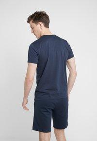 BOSS - TEE CURVED 10213473 01 - T-shirt basique - blue/silver - 2