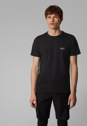 CURVED - T-shirt basique - anthracite