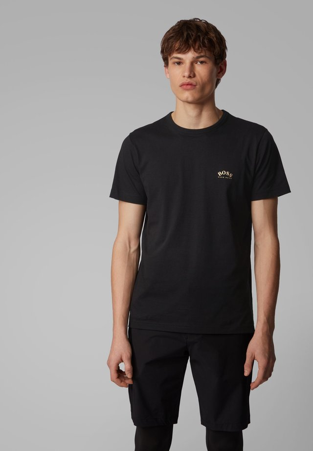 CURVED - T-Shirt basic - anthracite