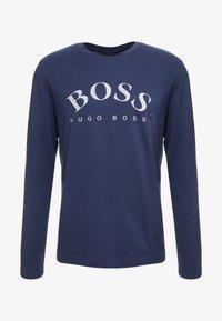 BOSS - TOGN  - Top sdlouhým rukávem - navy/silver - 4