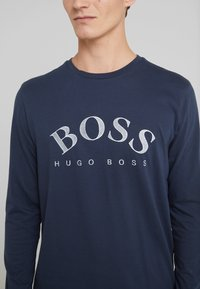 BOSS - TOGN  - Top sdlouhým rukávem - navy/silver - 5