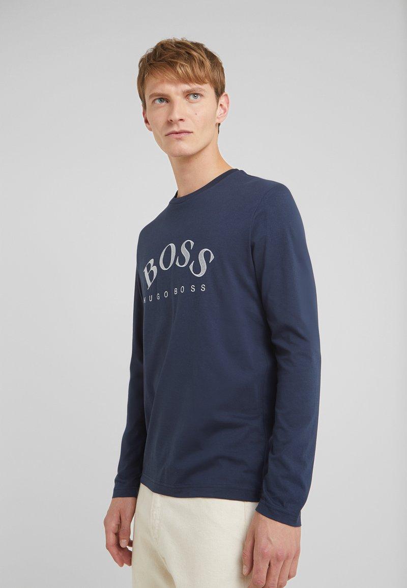 BOSS - TOGN  - Långärmad tröja - navy/silver