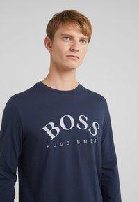 BOSS - TOGN  - Top sdlouhým rukávem - navy/silver - 3