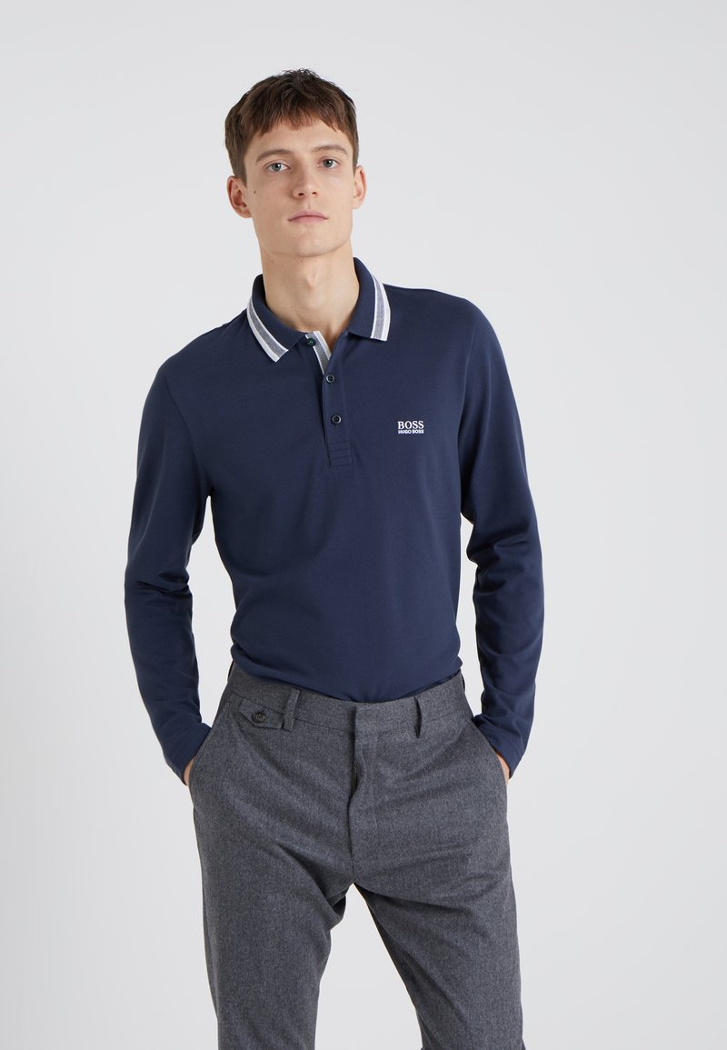 BOSS - PLISY - Polo shirt - navy
