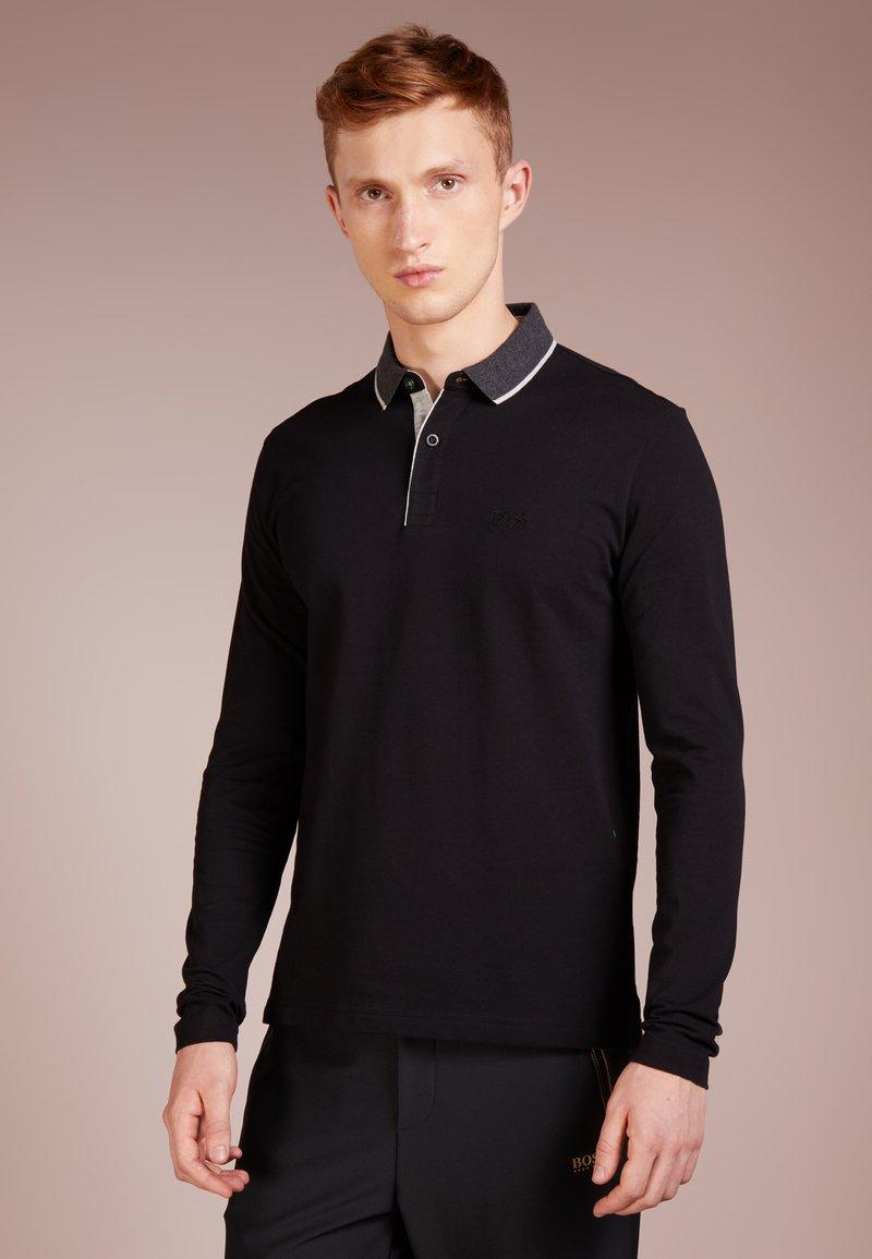 BOSS - PLISOS - Polo shirt - black