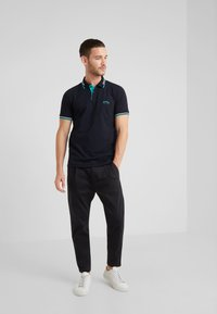 BOSS - PAUL CURVED  - Polo shirt - black - 1