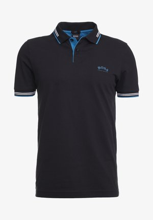 PAUL CURVED  - Polo shirt - black/blue