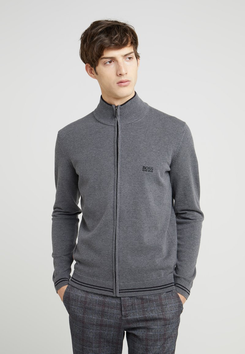 BOSS - ZOMEX  - Cardigan - medium grey
