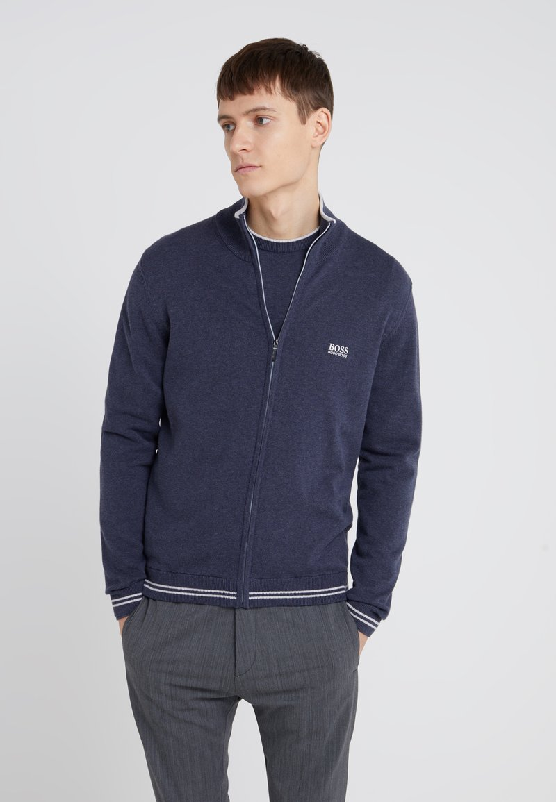 BOSS - ZOMEX  - Cardigan - navy