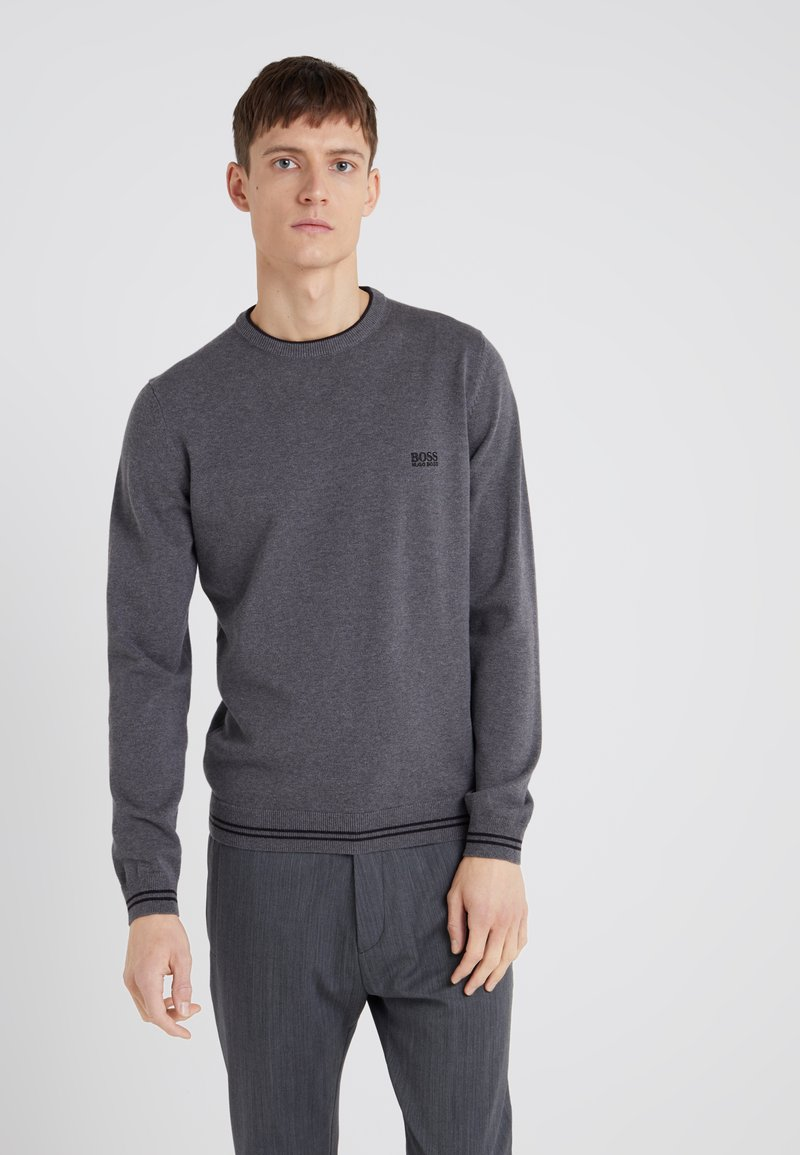 BOSS - RIMEX - Jumper - medium grey