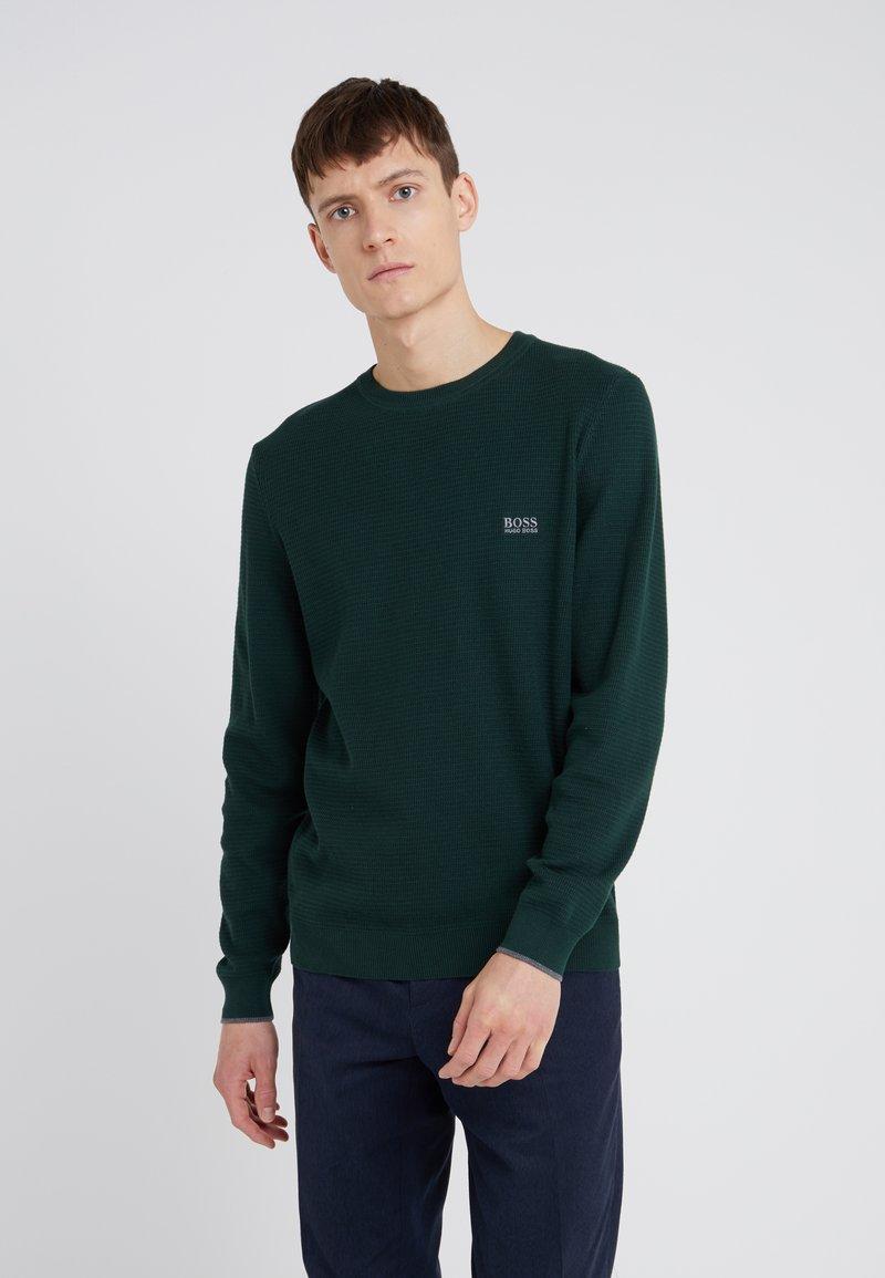 BOSS - RANJA - Sweter - open green